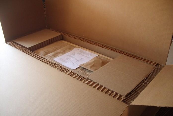 Промышленная упаковка из сотового картона